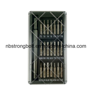 22 In1 Alloy Handle Screwriver Batch Set / lote China fábrica, fabricante de chave de fenda de China